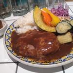 140747236 - 肉汁あふれるハンバー&デミグラス ライス 1,078円(税込)