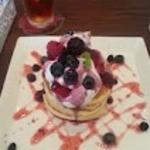 14076514 - ブルーベリーのパンケーキ①