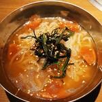 140760037 - 梅しそ冷麺ハーフ450円(税抜)