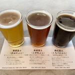 マウントフジブリューイング - ・季節限定タップ 3種飲み比べ 1,100円/税抜 (黄檗富士、焦香富士、黒紅富士)