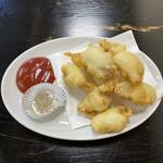 光飯店 - 料理写真:「肉の天ぷら」1,080円税込み