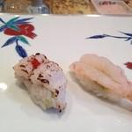 寿司栄 華やぎ - 炙り鱧