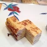 寿司栄 華やぎ - 卵焼き