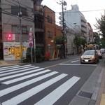 ラ・ブランジュリ・キィニョン - 前の道をまっすぐ行くと、JR国分寺駅南口