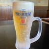 鉄龙山 - ドリンク写真:冷え冷えビール♡