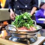 厨 七代目松五郎 - 特選牛すき焼き鍋