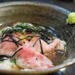 厨 七代目松五郎 - 和牛の出汁茶漬け