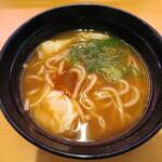 スシロー - 料理写真:濃厚えび味噌ワンタンメン 363円