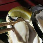 さんとり茶屋 - 焼き牡蠣