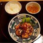 Ebisuchuukataizan - メイン&スープ&ライス
