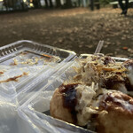 ザ・たこ - 料理写真:公園で食べるのが俺の流儀。