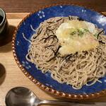 蕎家 佳 - 玉天ぶっかけ蕎麦(大盛り)