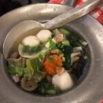 ガムランディー - スープが美味しい