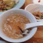 唐苑 - 酸味スープ
