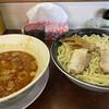 渚 - 料理写真:辛みそつけ麺(¥790)+とくもり(¥40)
