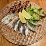 湘南バルはなたれ The Fish and Oysters - LINEの友達追加サービスで生イワシ
