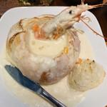 湘南バルはなたれ The Fish and Oysters - サンフランシスコクラムチャウダー