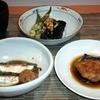 のん処 - 料理写真:ちょこっと晩酌 1,800円~おばんざい三種とお酒一杯(辛丹波をいただきました)