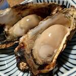 山代屋 - 焼き牡蠣