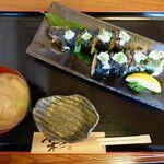 お食事処 燦 - 料理写真:さんまののり巻き 980円