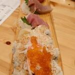 shigi38 まぐろと肉刺しパラダイス - パラダイス盛り