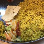 トルカリ - 豆ごはんキチュリ&マスタードがカホるサラダ