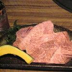 焼肉みや - 料理写真:特上本ミスジ(限定)1,680円