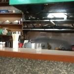 フジランチ - フジランチ 厨房