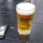 はしだて茶屋 - 生ビール
