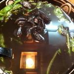 島おでん たから - 1000円『イカの墨汁』2012年5月吉日