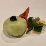 Masahiro - ずわい蟹のムースキャベツ包み