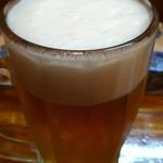島おでん たから - 500円『オリオン生ビール』2012年5月吉日