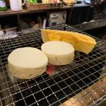 炉ばた雷橋 - 料理写真:山芋とカボチャ
