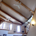 14083428 - 喫茶コーナーの高い天井