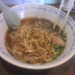 14083846 - スープにコクのある醤油味です。