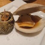 sakabasammaruni - サザエ、蛤