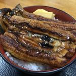 魚や 翻車魚丸 - うなぎ蒲焼丼のズーム
