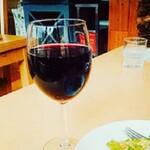 源流レストラン - グラスワイン