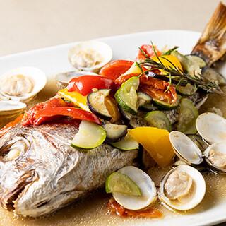 豊洲から仕入れる鮮魚を、お好みの調理法でご堪能いただけます♪
