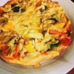 ファームレストラン 食祭 - 料理写真:【テイクアウト限定】畑の野菜ピザ