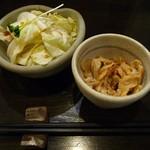 14084957 - お通し2種(2012/07/27撮影)