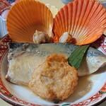 味処・民宿 まつや - 日本海定食の鯖の味噌煮