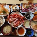 味処・民宿 まつや - 日本海定食
