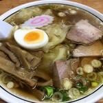中華そば 富士屋 - お薦め!:ワンタン麺