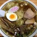 中華そば 富士屋 - ワンタン麺