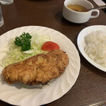 松榮亭 - カキアゲライス!存在感バッチリ