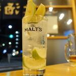 もつ焼 よし田 - 藤川果樹園レモンサワー