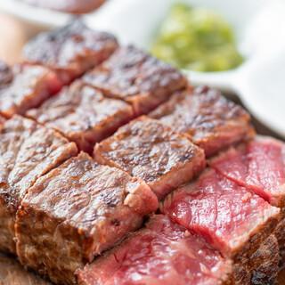 すべてのお肉がA4・A5ランクの100%黒毛和牛の雌牛を使用