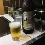お好み焼き 多美也 - 瓶ビール大