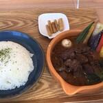 Cray pod soup curry Ohmiya Seiuemon - 京の肉ワイン煮込みスープカレー
